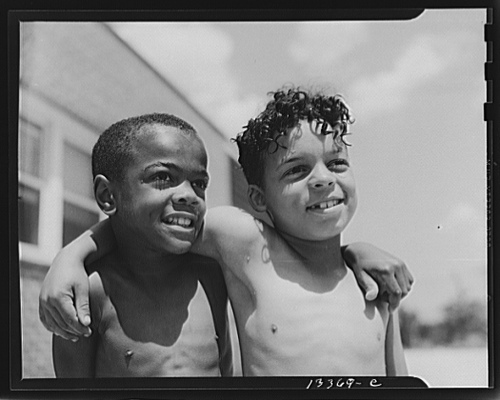 Boys in Anacostia, DC, photographed by Gordon Parks