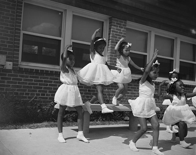 Young Dancers, Frederick Douglass Housing Project, Washington DC