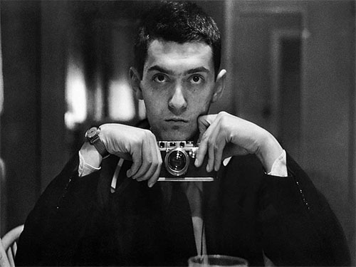 Stanley Kubrick with a Leica in 1949